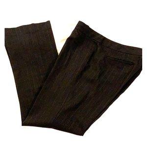 Elie Tahari Straight Leg Slacks Size 8 Black